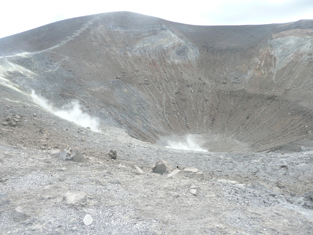 The Crater on Vulcano